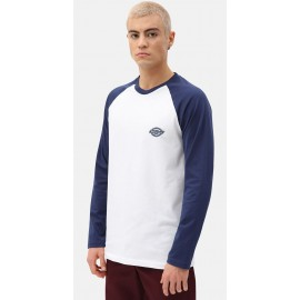 Tee Shirt Long Sleeves DICKIES Youngsville Baseball Deep Blue