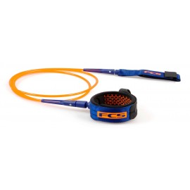 Leash FCS Comp Essential 5' Blood Orange Navy