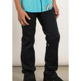 Junior VOLCOM Frickin Modern Stret Chino Pants Dark Navy