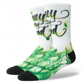 Chaussettes STANCE Airbrush Money Multi
