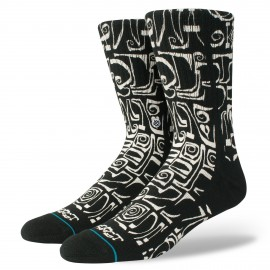 Chaussettes STANCE Frost Letters Black