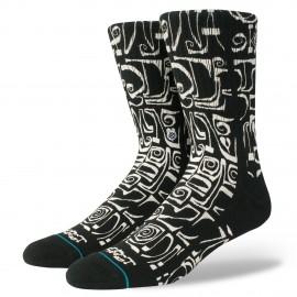 STANCE Frost Letters Black Socks