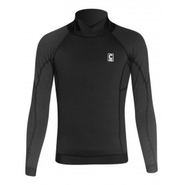 C-Skins Thermal Skins Junior Long Sleeve Vest Black