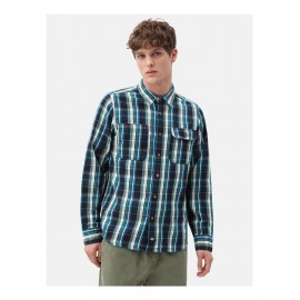 DICKIES Glenmora Dark Navy Shirt