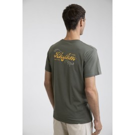 RHYTHM Legacy Olive Men's Tee Shirt