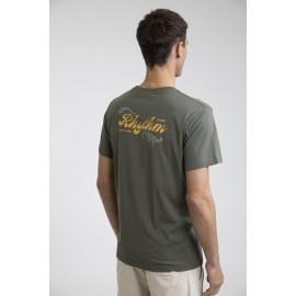 Tee Shirt Homme RHYTHM Legacy Olive