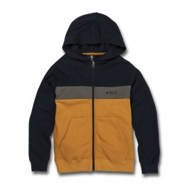 Sweat Junior VOLCOM Single Stone Division Zip Inca Gold
