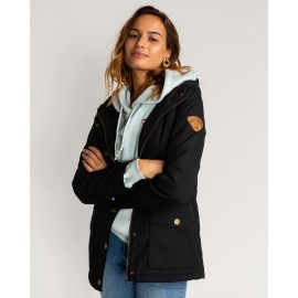 BILLABONG Women's Coat Facil Iti Black
