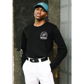 Tee Shirt Manches Longues Homme DICKIES Baldwin Black