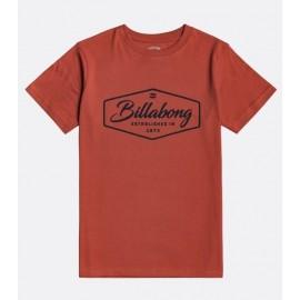 Tee Shirt Junior BILLABONG Trademark Deep Red