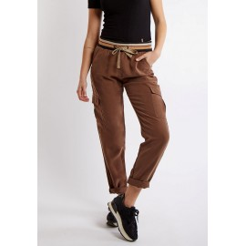 Pantalon BANANA MOON Mercer Pianchy Marron