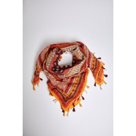 Foulard Cheich Banana Moon Aldine Splendora Curry