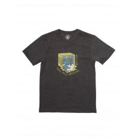 Tee Shirt Junior VOLCOM Tune Into Black