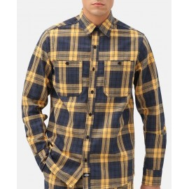 Chemise Homme DICKIES New Iberia Blue Yellow