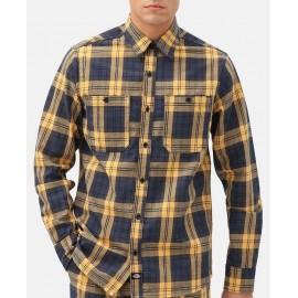 Men's Shirt DICKIES New Iberia Blue Yellow