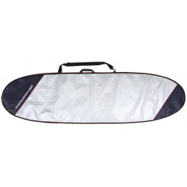Ocean & Earth Barry Basic 7'6 Funboard Cover Red