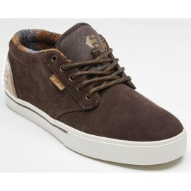 ETNIES Jameson Mid Shoes Brown Tan