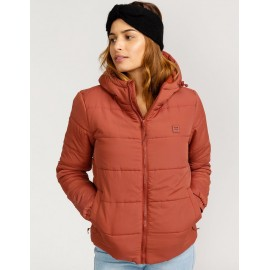BILLABONG Transport Puffer 2 Women's Down Jacket Chesnut