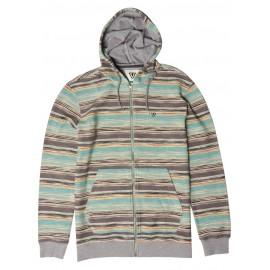 VISSLA Sultans Zip Men's Sweatshirt Smokey Jade