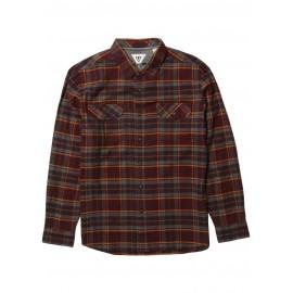 VISSLA Central Coast Flannel Blood Men's Shirt
