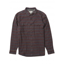 VISSLA Central Coast Flannel Multi Men's Shirt