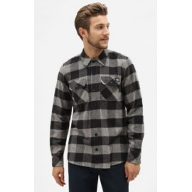 Shirt DICKIES Sacramento Flannelle Gray Melange