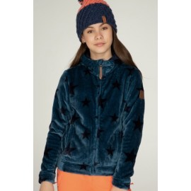 Junior Fleece Jacket PROTEST Fina Ground Blue