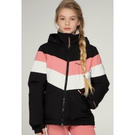 Junior Girl Snowboard Jacket PROTEST Fudge True Black
