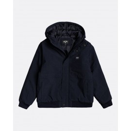 BILLABONG All Day 10K Navy Heather Junior Jacket