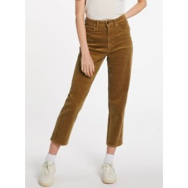 VOLCOM Stoned Straight Vintage Gold Women's Pants