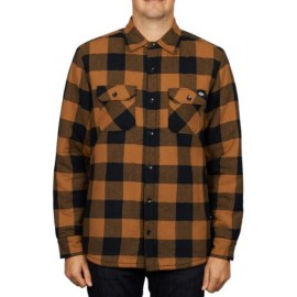 Chemise Doublé Sherpa DICKIES Lansdale Brown Duck
