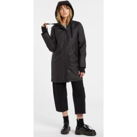 Women's Waterproof Coat VOLCOM V Boat Coat Black