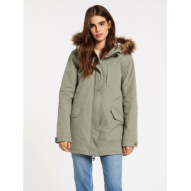 VOLCOM Less Is More 5K Green Tea Women's Parka