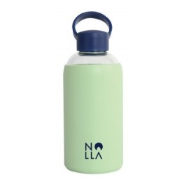 NOLLA Almond Glass Bottle 580 ML