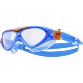 Masque De Natation Junior TYR Orion Bleu Transparent