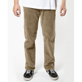 Pantalon Velours VISSLA Border Corduroy Pkt Light Khaki