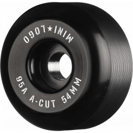 Roue Mini Logo A Cut 54mm 95A Black