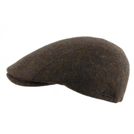HERMAN Hill Brown Cap with Ear Flaps