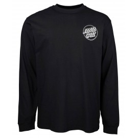 Santa Cruz O'Brien Reaper Long Sleeves Tee Shirt Black