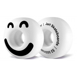 Jart Be Happy 53mm 101A Skateboard Wheels Pack