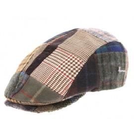 HERMAN Spitz Patchwork Brown Cap