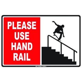 Plaque ALU Déco Hand Rail