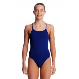 Women's FUNKITA Diamond Back Still Ocean One-Piece Swimsuit