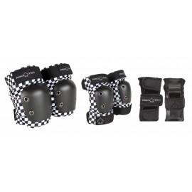Set de Protections Pro-Tec Junior Small Checker