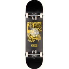 "Skate Complet Globe G1 Fairweather 8.0"" Black Yellow"