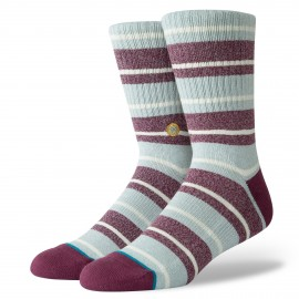 Chaussettes STANCE Cope Maroon