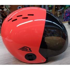 Gath Helmet Retractable Visor Smoke Orange