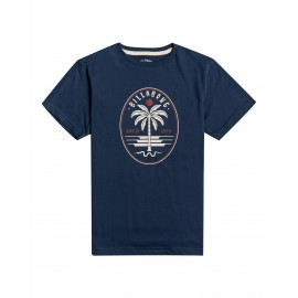 Junior Tee Shirt BILLABONG Snake Denim Blue