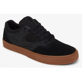 DC Shoes Kalis Vulc Black Black Gum