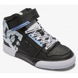 Chaussure DC Junior Pure High Top SE Black White